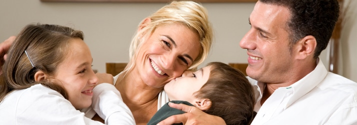 Chiropractic Hixson TN Happy Family